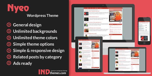 Themes WordPress Terbaik Untuk Optimasi Google Adsense nyeo