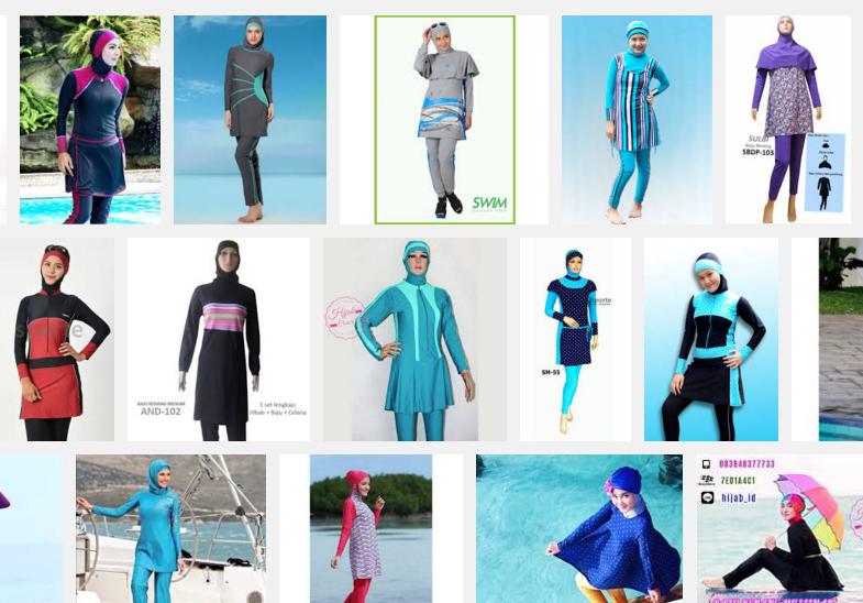 Cara Memilih Baju Renang Muslimah Syar'i