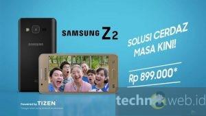 Samsung Z2 Tizen, Harga dan Spesifikasi Terbaru